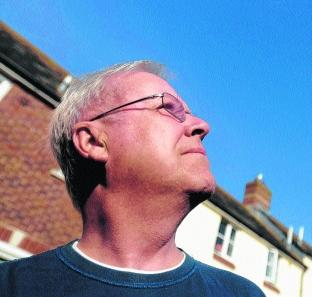 David Haigh of Chickerell, who spotted a possible UFO