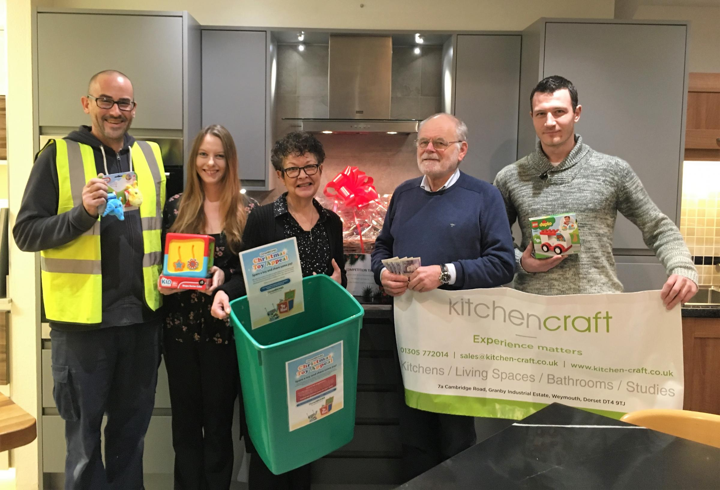 Kitchencraft Has Just Donated 100 To The Dorset Echo Toy Appeal