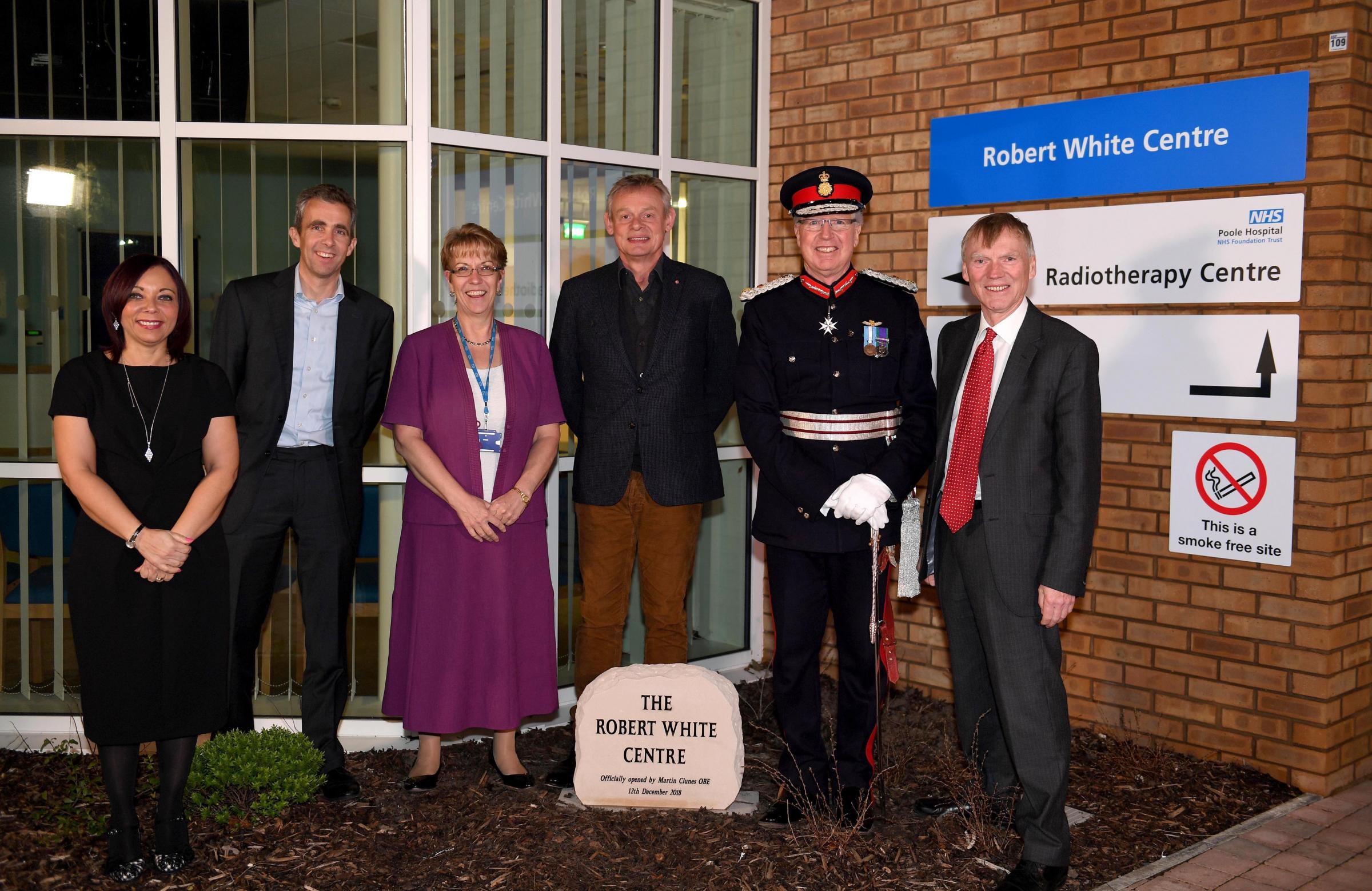 Robert White Centre opening, Dorset County Hospital .Picture: Finnbarr Webster Photography .07967 339979.