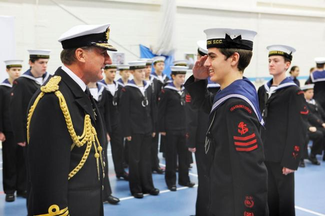 Special guests of honour as Sea Cadets celebrate a