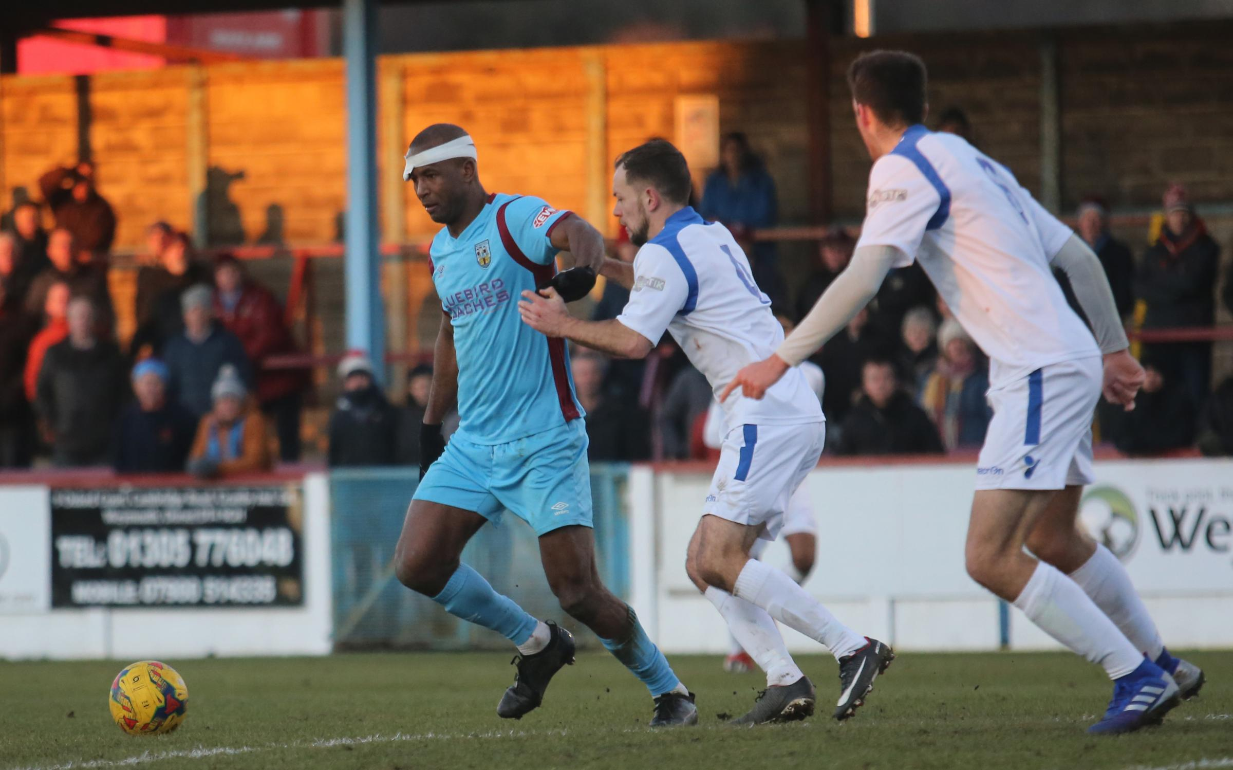 Terras Boss Mark Molesley Hopes Weymouth Are Hurting After Loss