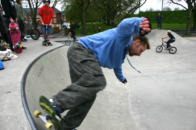 Dorchester skate park. A similar one is planned for beaminster