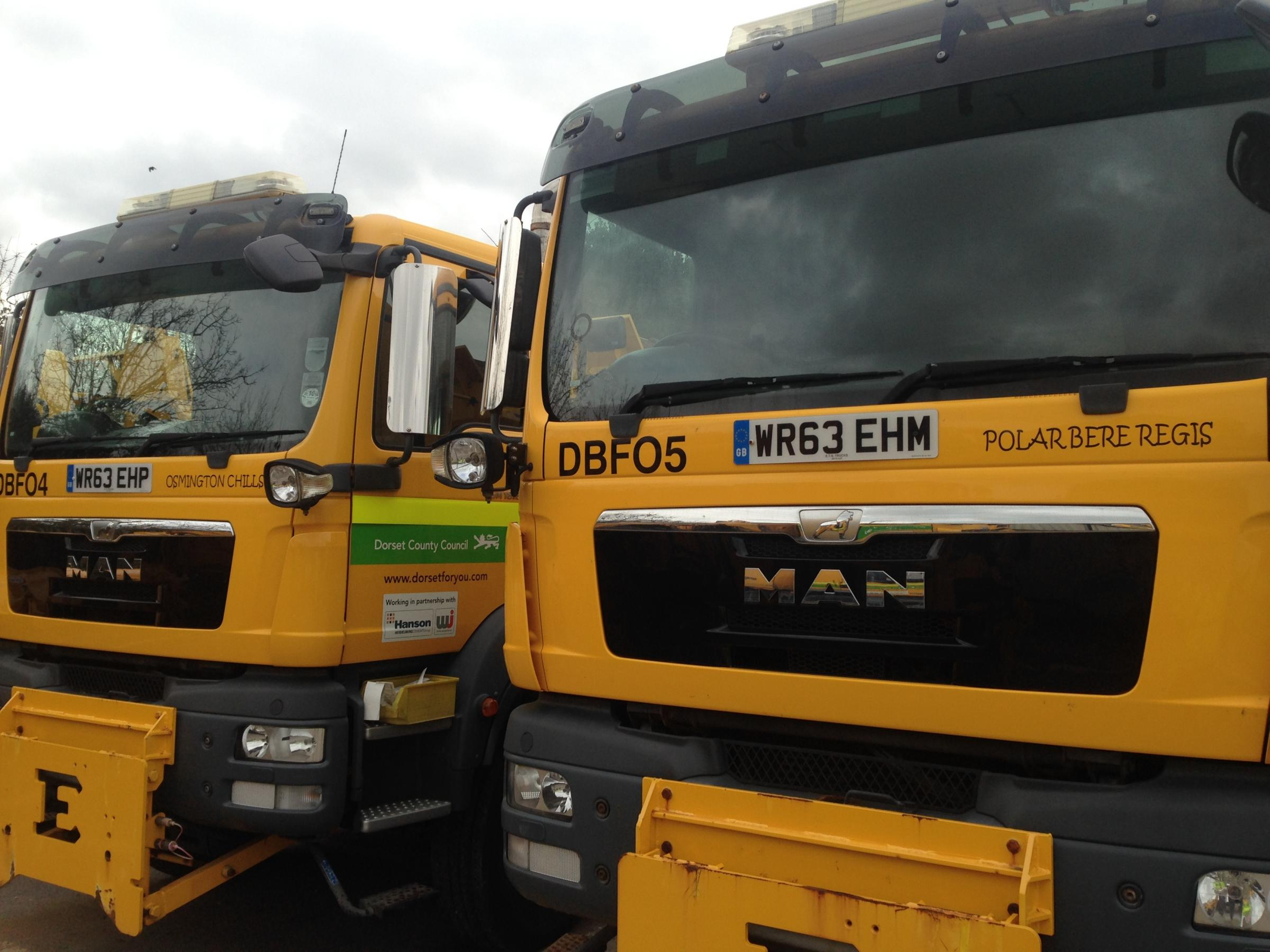 Dorset gritters are named