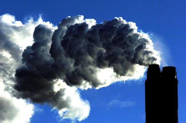 File photo dated 10/01/07 of a coal fired power plant. The World Health Organisation (WHO) has said meeting international goals to tackle climate change could save around a million lives a year by 2050 just from reductions in air pollution. PRESS ASSOCIAT