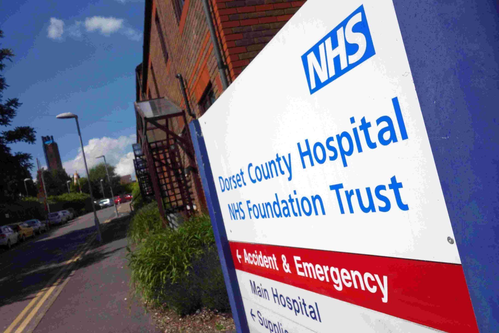 Norovirus warning to Dorset County Hospital visitors