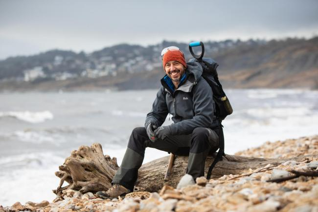 Martin Curtis of Jurassic Coast Guides is finalist in VisitEngland's Tourism Superstar 2019 Picture: David Lewis of Lewis and Schofield Photography