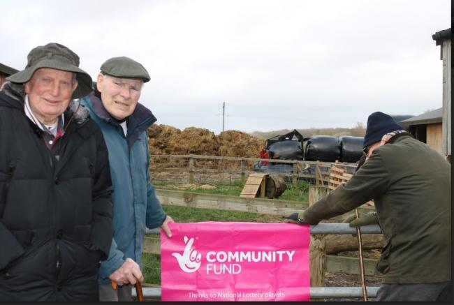 BOOST: Future Roots helps reach isolated men across Dorset and gets them involved in crafts, growing produce and other outdoor activities to help improve mental and physical health