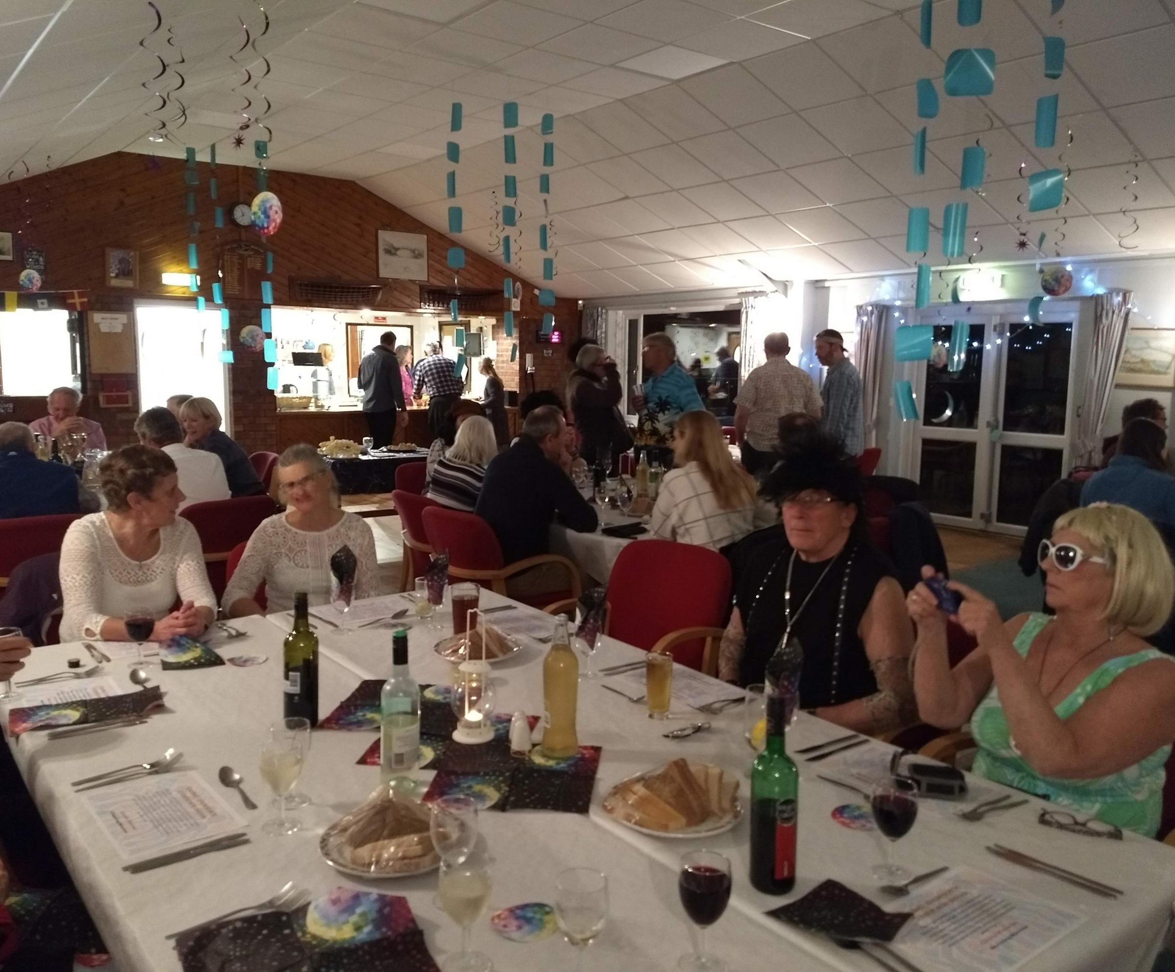 Castle Cove members enjoying a dinghy dinner Picture: TONY DOBBS