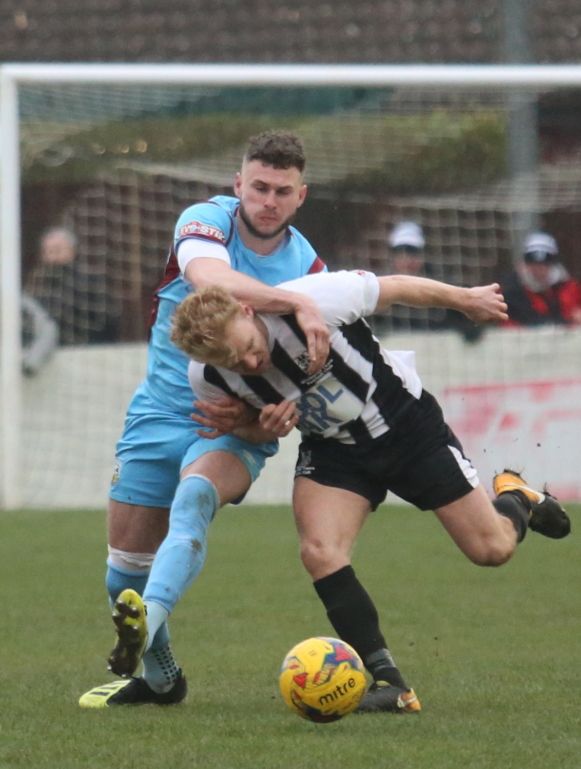 HELD: The Terras drew 0-0 at Wimborne       Picture: MARK PROBIN