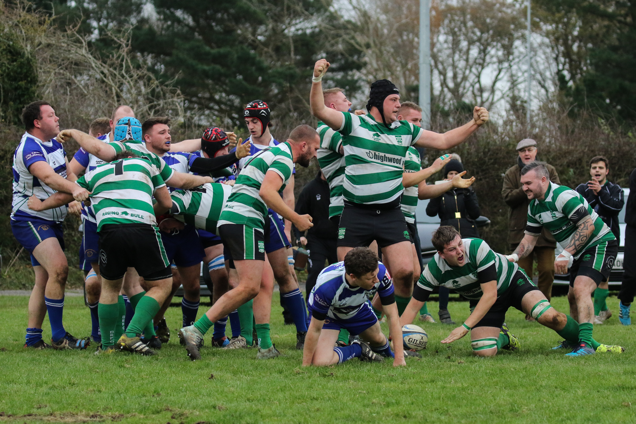 PIVOTAL CONTEST: Dorchester face a must-win game with North Dorset 		       Picture: PHIL STANDFIELD