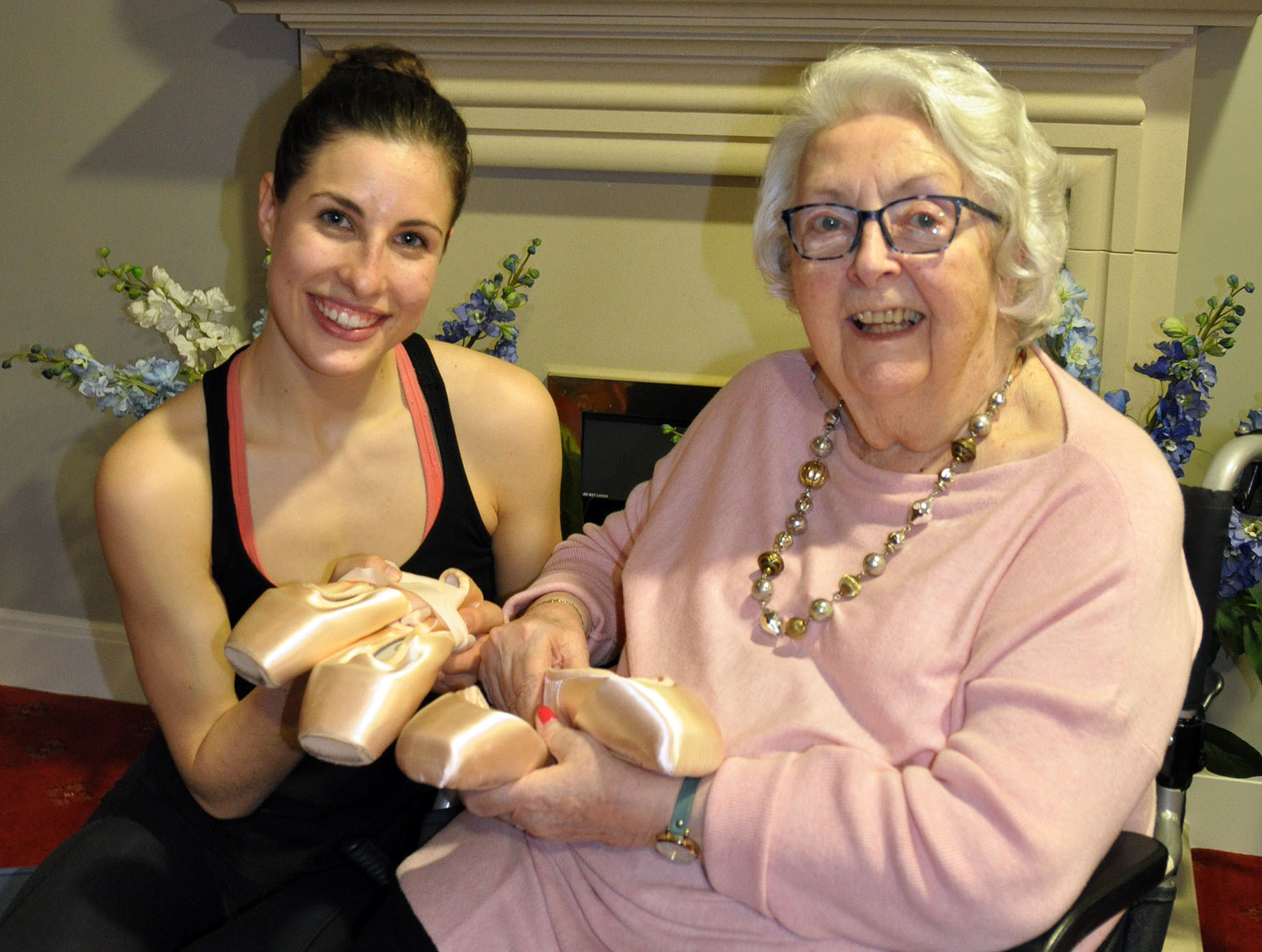 How a young dancer transported a once famous ballet star back to her heyday