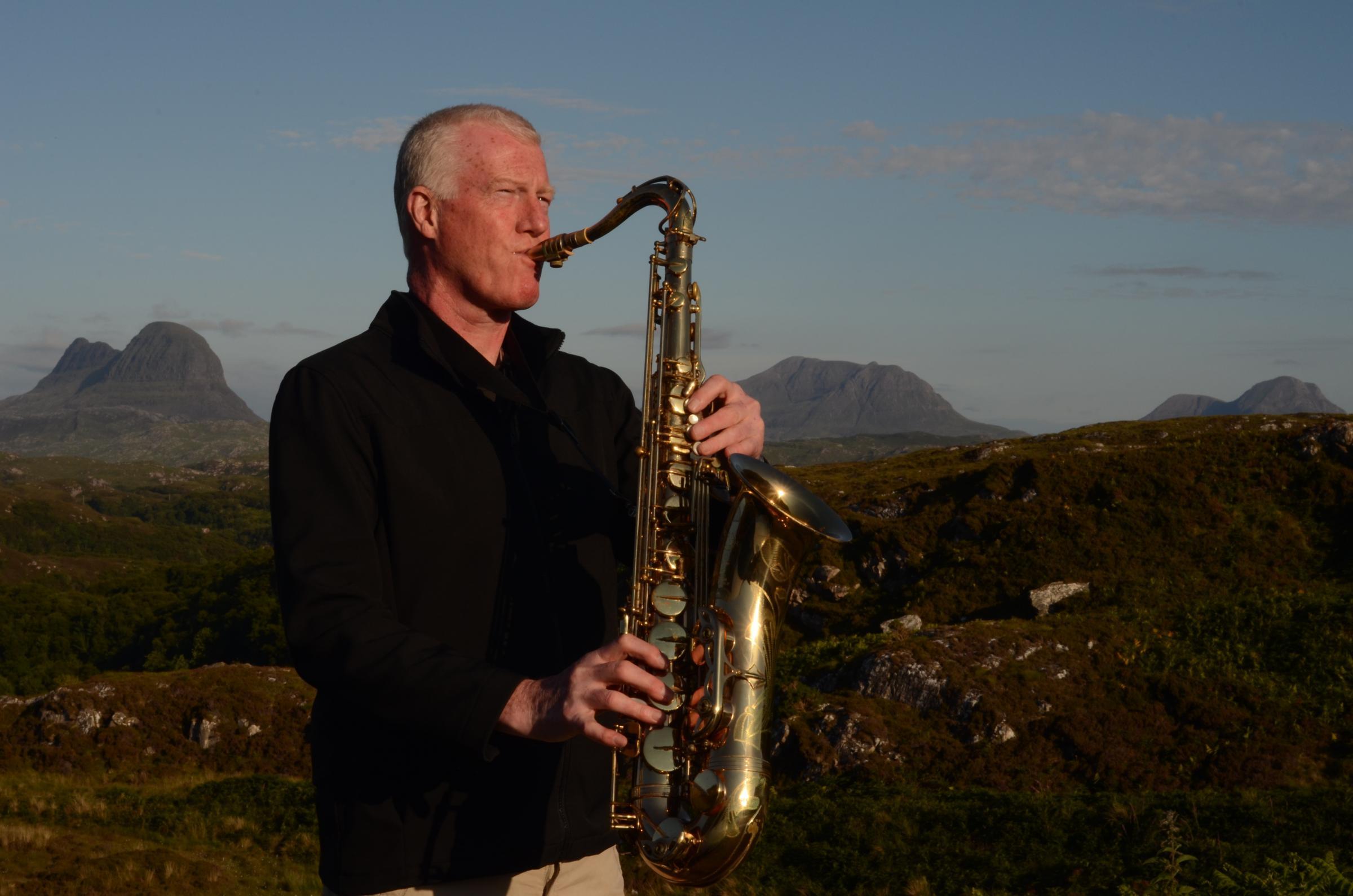 Pair bring Scotland-inspired jazz to village