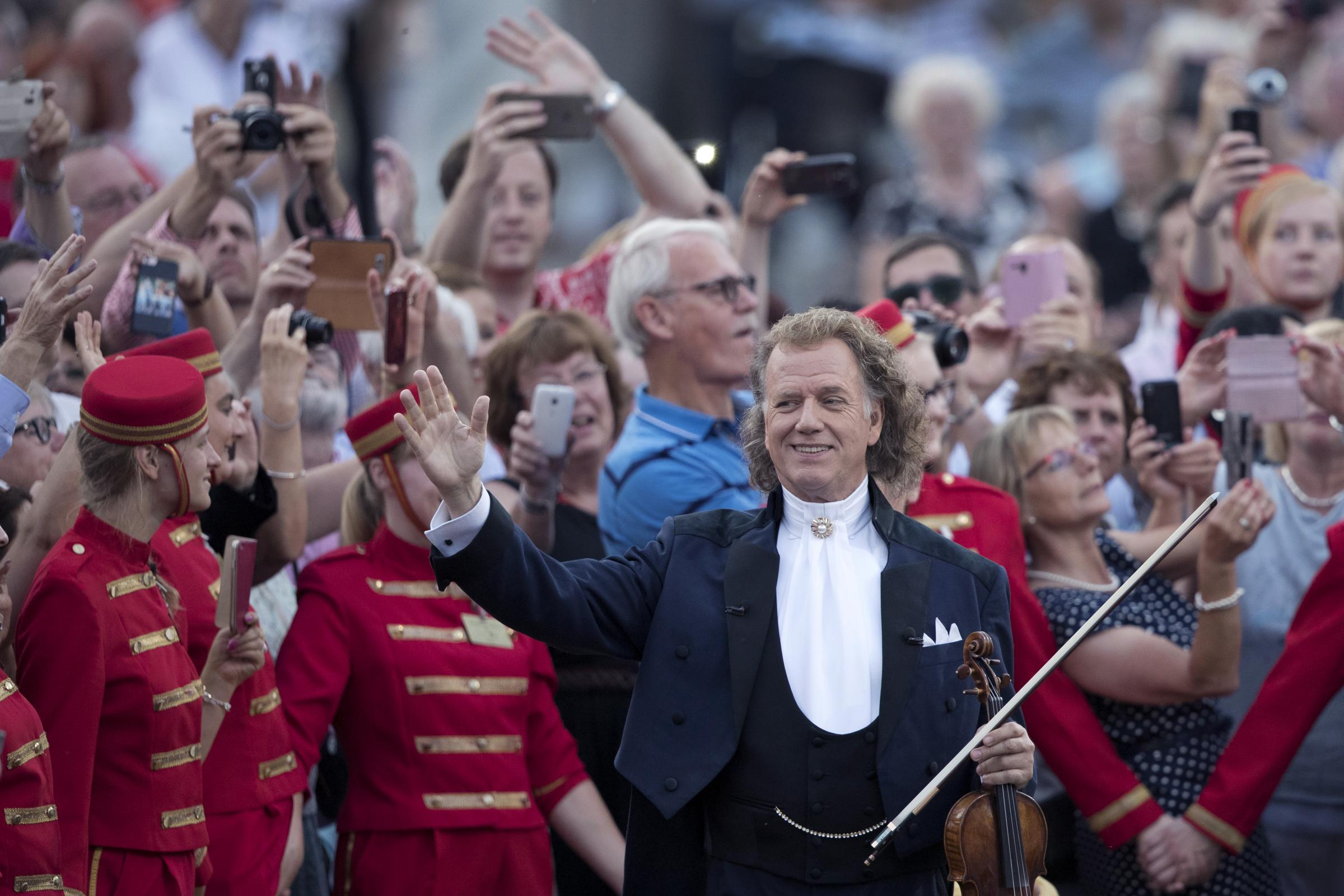 André Rieu show to be screened in Weymouth and Dorchester