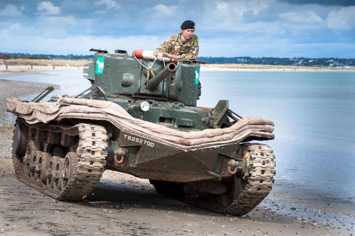How tragedy of tanks exercise aided D-Day soldiers | Dorset Echo