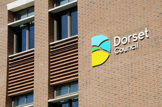 West Dorset District Council offices, Dorchester with new logo, 02/04/19, Picture: FINNBARR WEBSTER/F20238