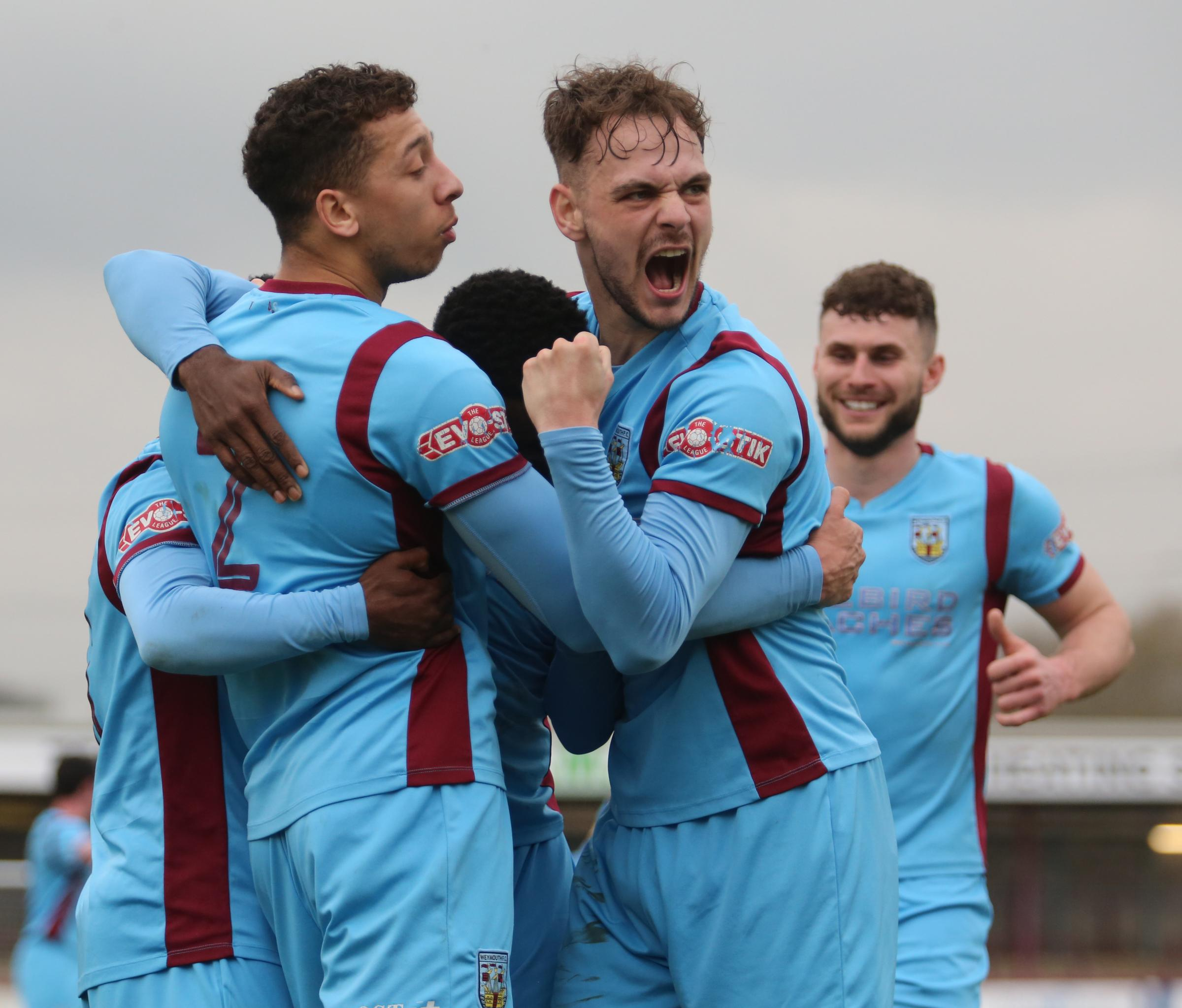 FOUR-GOAL HAUL: Brandon Goodship netted four against Staines               Picture: MARK PROBIN