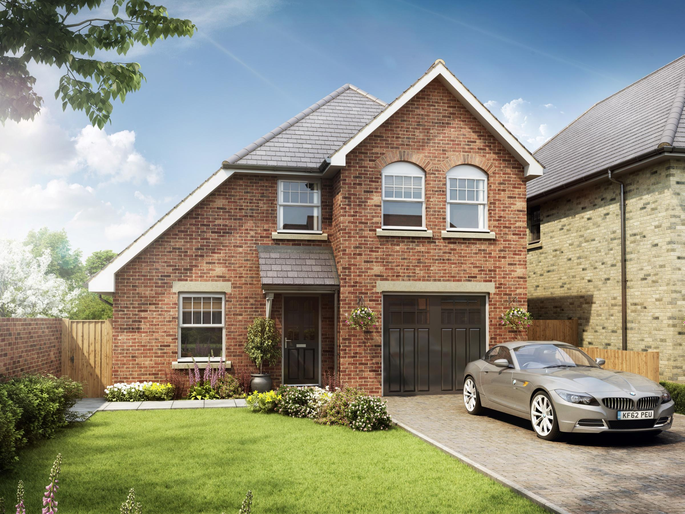 Four bedrooms, landscaped gardens, and it could be yours...for £895k