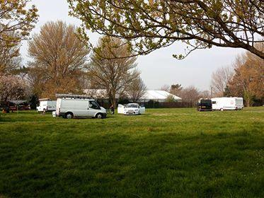 Travellers recently moved onto Lodmoor next to Sandworld PIC: Dave Taylor