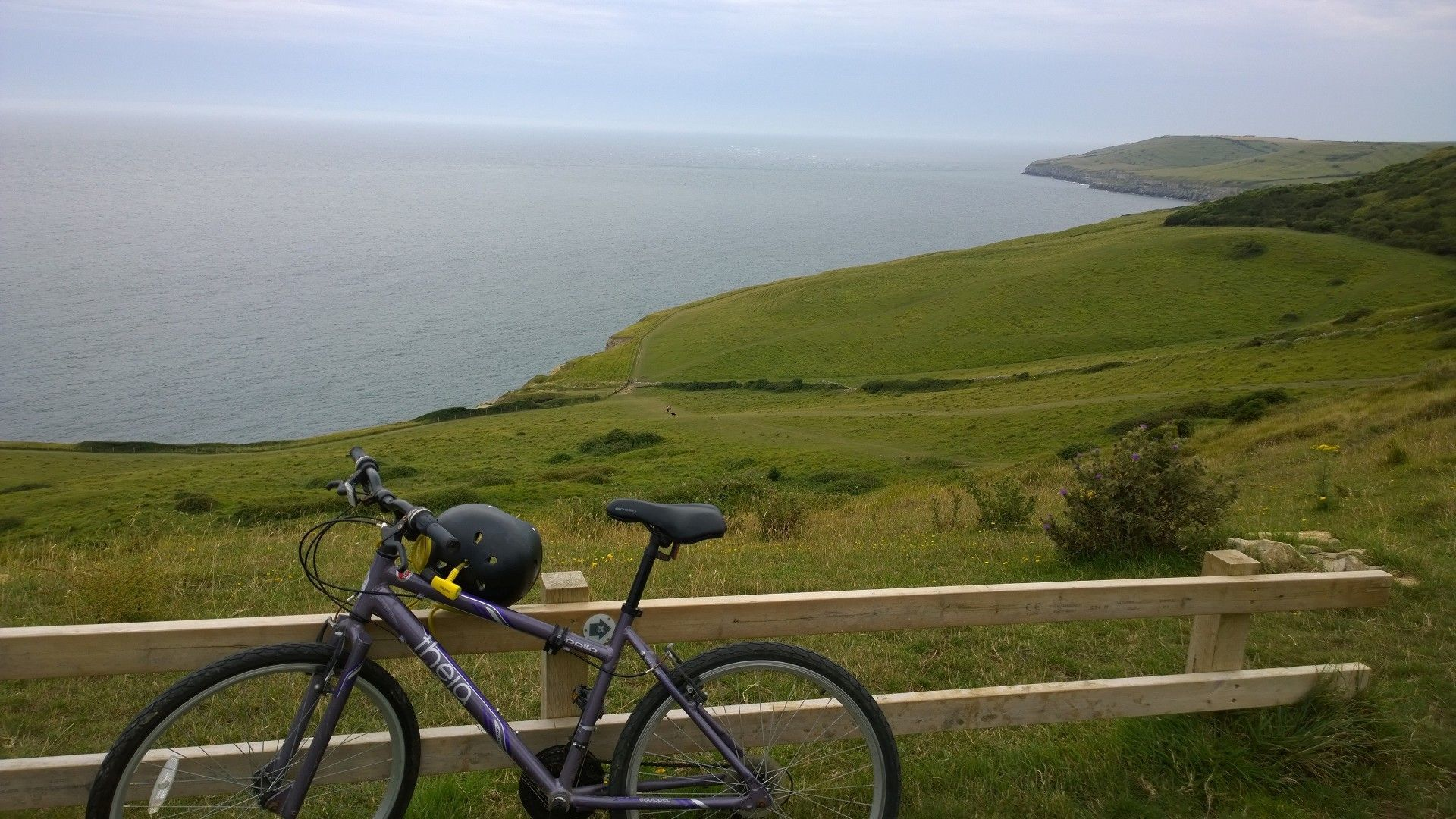 Cycle at Dancing Ledge to improve your wellbeing