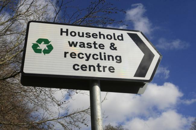What is your view on the county's household recycling centres