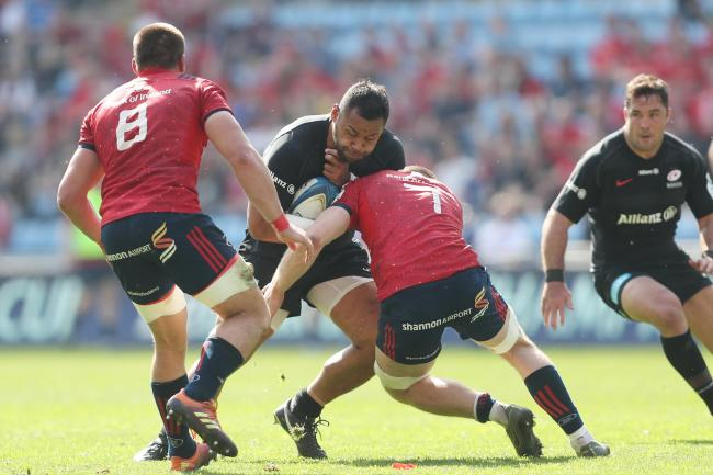 Billy Vunipola was approached by a spectator following Saracens' semi-final win over Munster