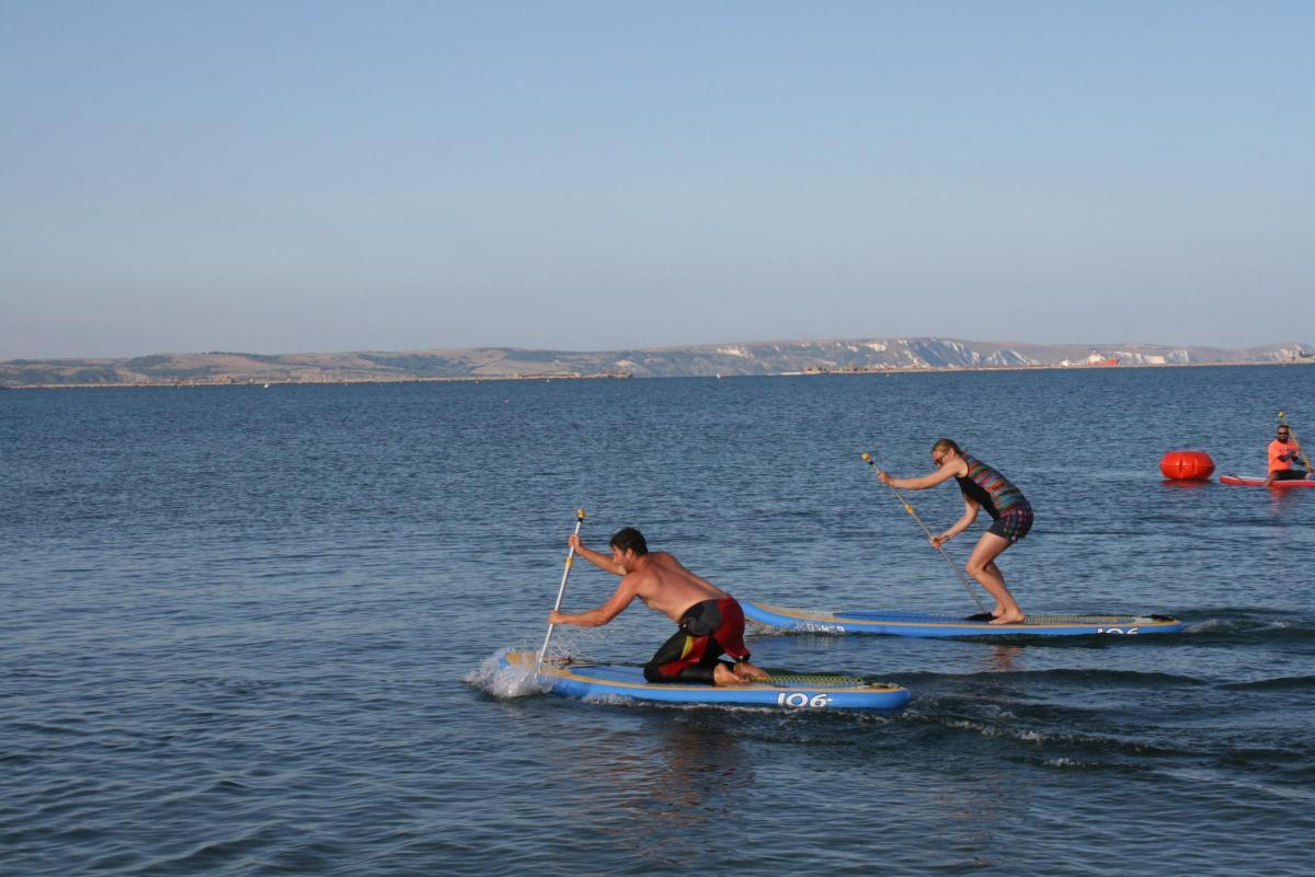 Stand-up paddleboard race to be held as part of Weymouth Lifeboat Week 2019