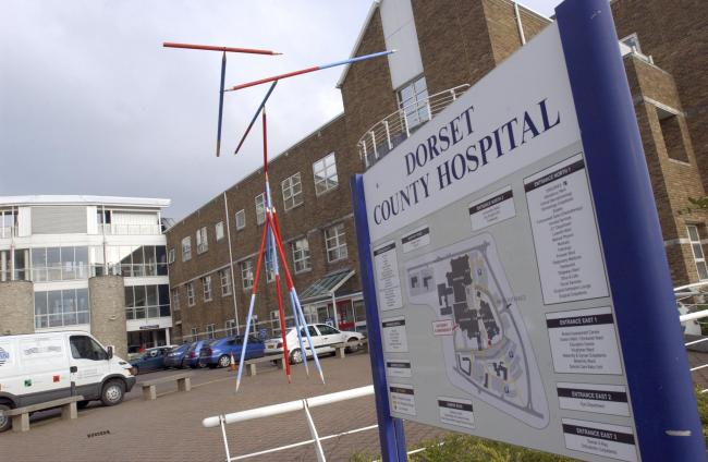 G739.  DCH DORCHESTER, DORSET COUNTY HOSPITAL NEW FILE PICS. .PIC BY GEOFF MOORE. 250105.