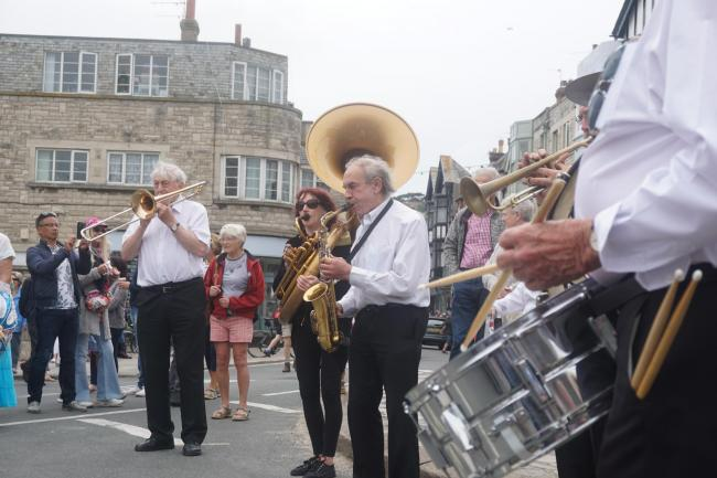 Swanage Jazz Festival in full swing