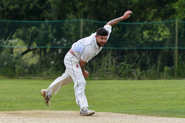 TRIPLE: Matt Camp took three wickets for Martinstown Picture: GRAHAM HUNT PHOTOGRAPHY