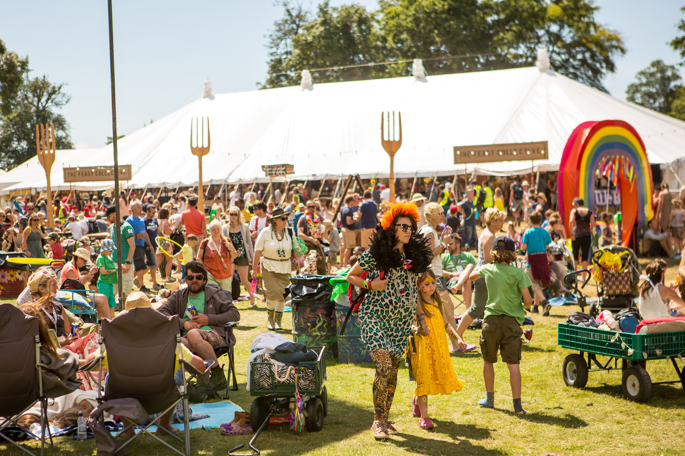 Appeal for volunteers at this year's Camp Bestival