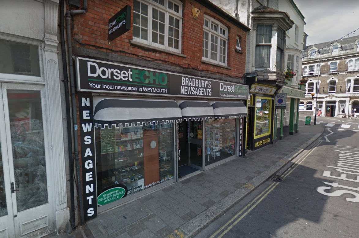 Bradbury's newsagents of Weymouth to be converted into pizza takeaway