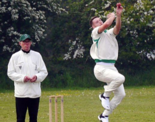 BOWLING WEAPON: Tom Blair is County Division Two's leading wicket-taker                           Picture: DAVE STEPHENS