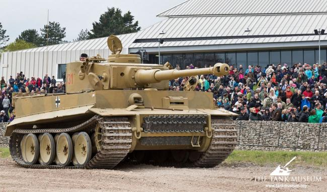 HISTORIC: Tiger 131 one of the examples at The Tank Museum, picture by Bovington Tank Museum