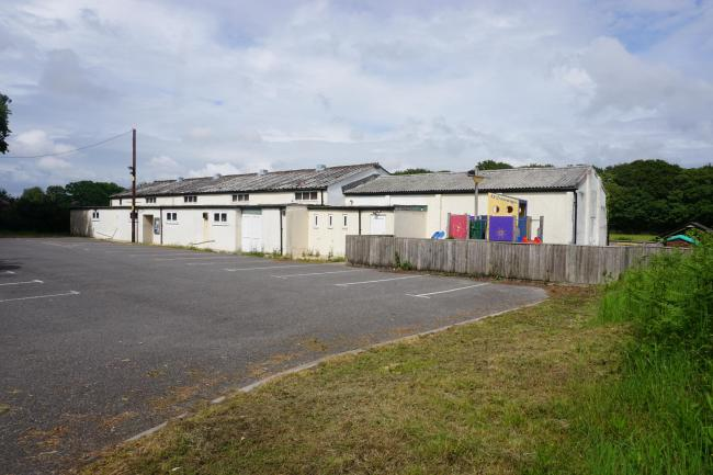 Crossways village hall, home of Crossways Playgroup     Picture: ALEX CUTLER