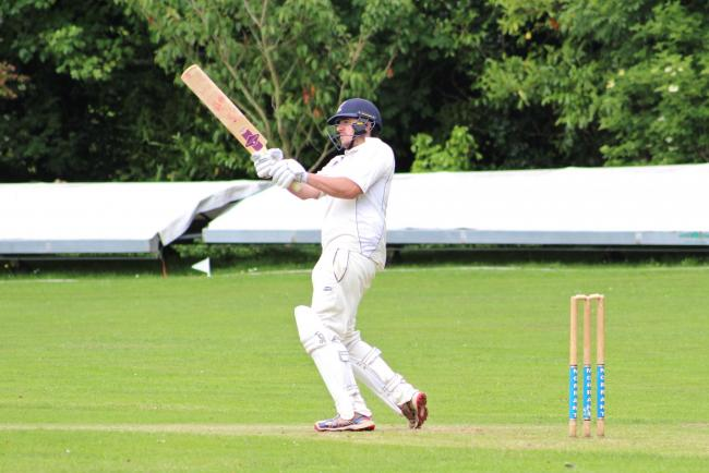 CAPTAIN'S INNINGS: Bradley Damen notched 80 runs Picture: LIAM TOOHILL