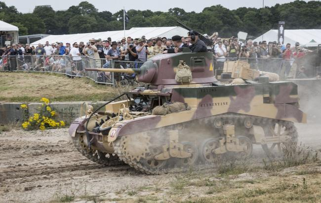 Crowds at TANKFEST