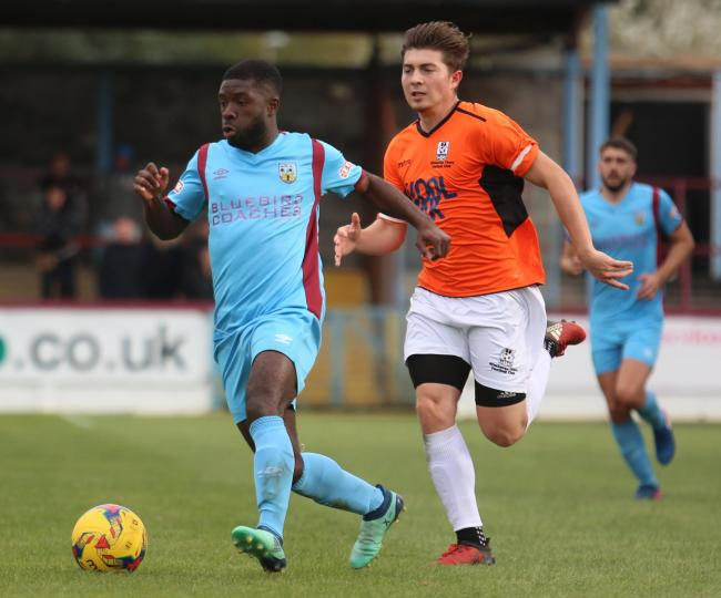 TERMS AGREED: Abdulai Baggie, left, has committed to the Terras Picture: MARK PROBIN